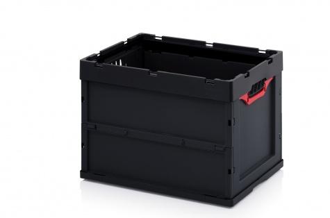 Saliekama ESD-noliktavas kaste, 600 x 400 x 420 cm