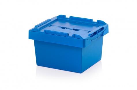 Uzglabāšanas kaste ar vāku, 400 x 300 x 240 mm
