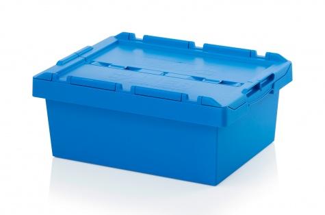 Uzglabāšanas kaste ar vāku, 600 x 400 x 240 mm