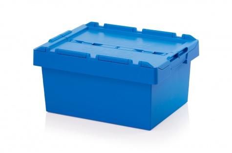 Uzglabāšanas kaste ar vāku, 600 x 400 x 290 mm