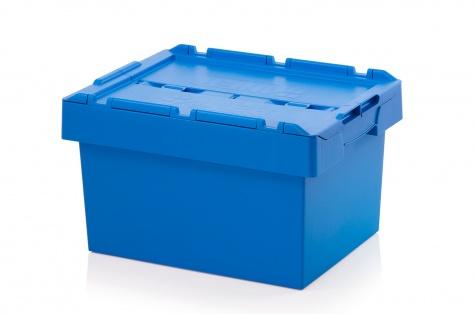 Uzglabāšanas kaste ar vāku, 600 x 400 x 340 mm