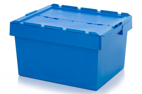 Uzglabāšanas kaste ar vāku, 800 x 600 x 440 mm