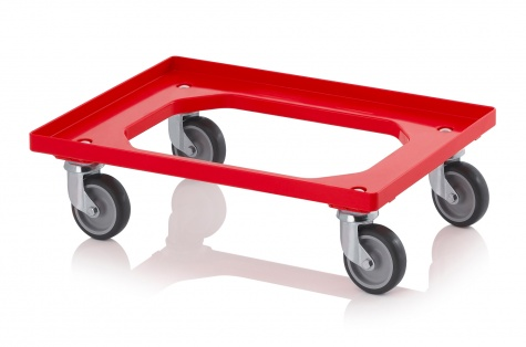 Plastmasas ratiņi Minitrans (420 x 620 x 150 mm), 200 kg