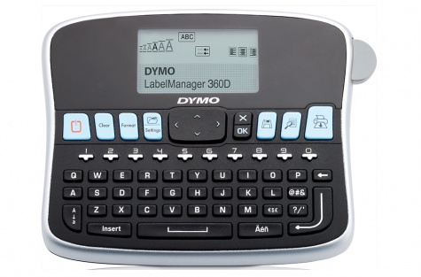 DYMO LabelManager 360D ribaprinter