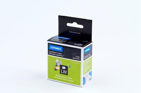Этикетки для Dymo Label Writer -принтеров, 11353 (12 x 24 мм)