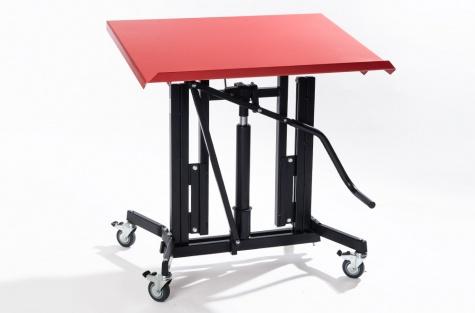 Montāžas galds Maxi ar regulējamu slīpumu, 1150 x 750 mm
