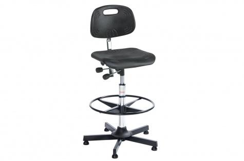 Darba krēsls Classic, augsts, ar atbalsta gredzenu