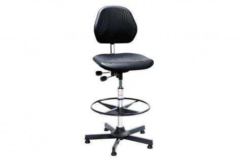 Darba krēsls Comfort ar riņķveida balstu kājām