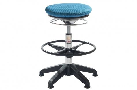 Taburet Pilates Air, sinine kangas