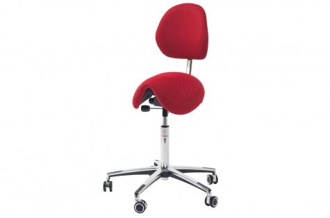 Sedlu krēsls Pinto LUX ar atzveltni