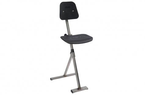 Krēsls Inox Sit-stand, nerūsējošā tērauda kāja