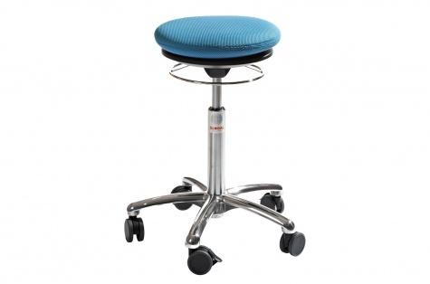 Taburet Pilates Air Alu50, sinine kangas