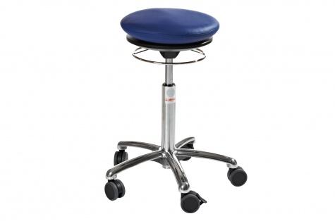 Taburet Pilates Air Alu50, sinine kunstnahk