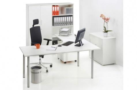 Classic sērijas biroja galds, 1800 x 1800 mm