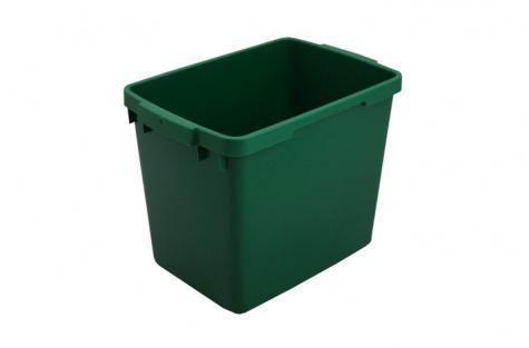 Atkritumu konteiners, 25L, zaļš