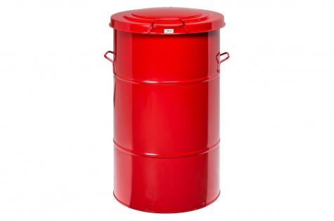 Atkritumu urna, 115 l, sarkana