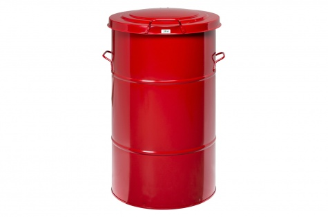 Prügitünn, 160 liitrit, punane