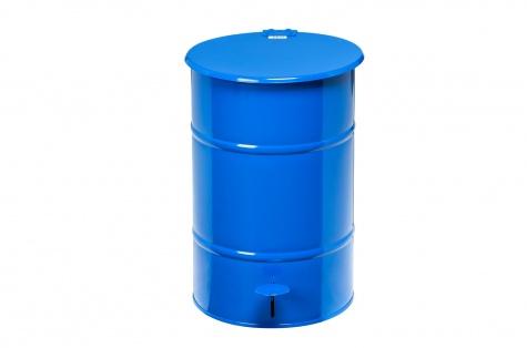 Atkritumu urna ar pedāli, 30L, zila