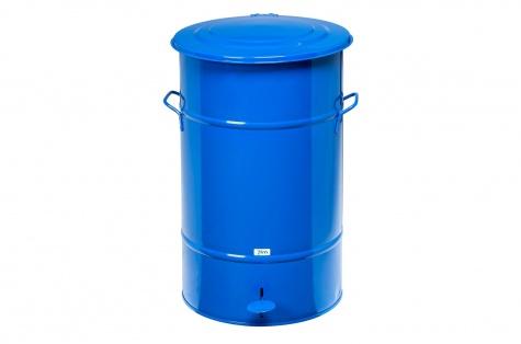 Atkritumu urna ar pedāli, 70L, zila