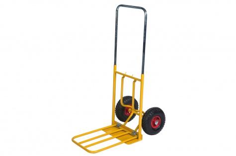 Saliekami noliktavas ratiņi, celtspēja 150 kg