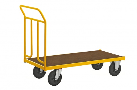 Platvormkäru KM 144600B, piduriga rattad