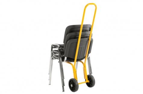 Ratiņi krēslu pārvadāšanai