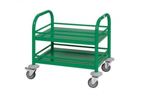 Mini riiulkäru, 530 x 375 x 550, roheline