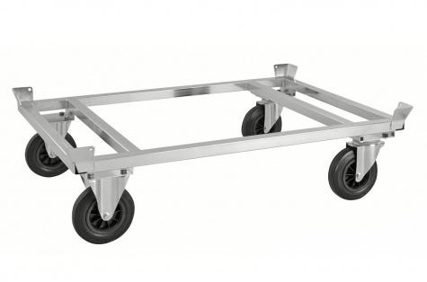 EUR palešu platforma uz riteņiem KM217-EP, 800kg