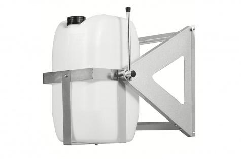 Statīvs 25 l kannu/tvertņu pārvadāšanai un iztukšošanai