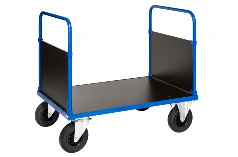 Lielas noslodzes (500 kg) ratiņi ar rokturiem abās pusēs, 1000 x 700 mm