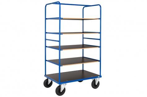 Multi-shelf trolley, 2 brake