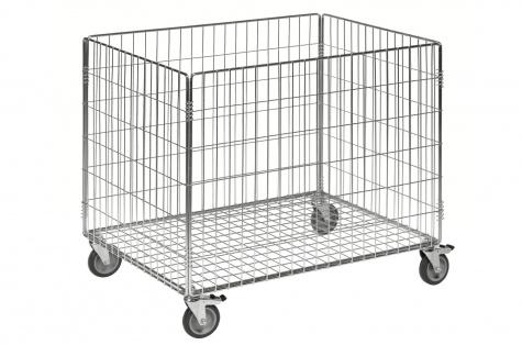 Решетчатый контейнер - тележка, 835 (Д) х 625 (Г) х 740 (В) мм