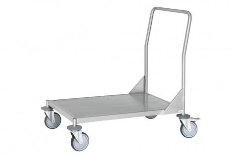 Nerūsējoši platformas ratiņi