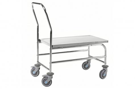 Nerūsējošā tērauda platformas ratiņi