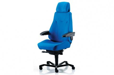 24h Kab Seating darba krēsls, zils audums