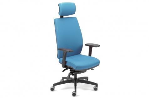 Biroja krēsls Elani, zils