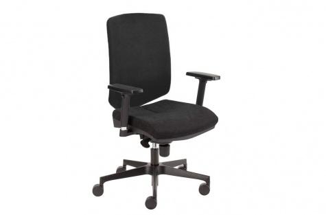 Biroja krēsls Just-up, melns