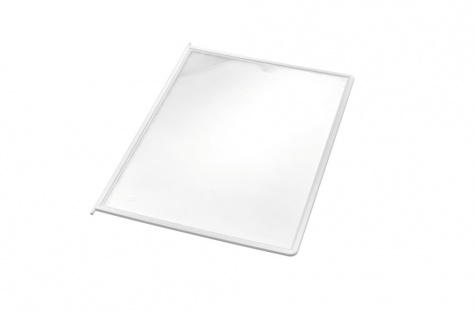 Пластиковые папки-карманы, белый