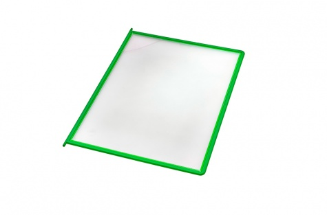 Plastmasas kabatiņas, zaļas