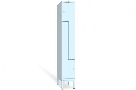 Z-ustega garderoobikapp VKZ, 2ukseline, uks 300/150 mm