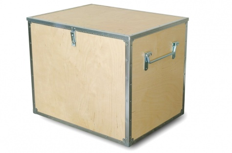 Finiera kaste ar vāku, 740 x 562 x 600 mm