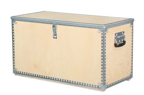 Finiera kaste ar vāku, 765 x 362 x 400 mm