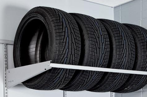 Полка для шин, 1200 х 600 мм