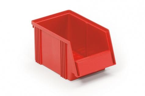 Lādīte 250 x 149 x 130 mm, sarkana