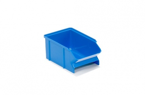 Plastmasas lādīte 30-1L-6, zila