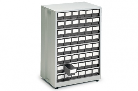 Кассетница 4840-3, серый