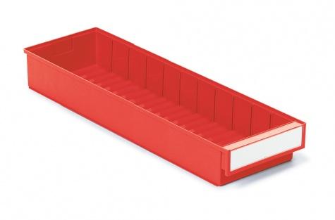 Lādīte 600 x 186 x 82 mm, sarkana