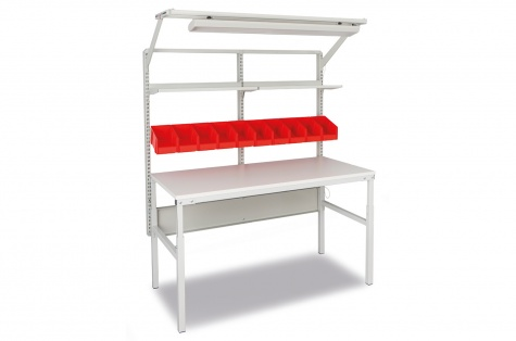 Komplekt TP-9: töölaud 1500 x 700 mm