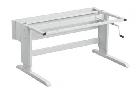 Concept töölaua raam, käsivintsiga, 1000 x 900 mm