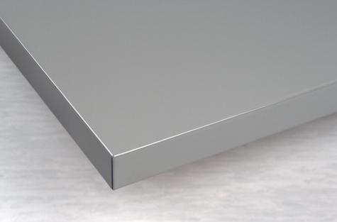 Galda virsma 1000 x 750 mm, tērauda pārklājums